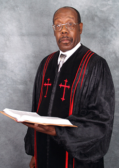 Pastor William E. Morgan