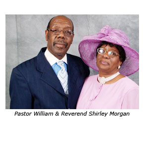 Pastor and Reverend Shirley Morgan